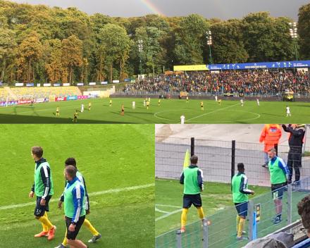 Frederik Bracke en voetbal