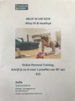 Nieuw: Personal Training online ... Start nu!